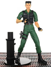"""Resident Evil 3 CHRIS REDFIELD 8"""" Action Figure Moby Dick Toys 2001"""