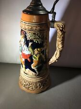 Rare German Beer Stein, made in Japan W/ Music Box!