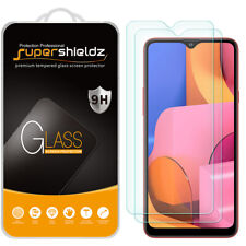 [2-Pack] Supershieldz Tempered Glass Screen Protector for Samsung Galaxy A20s