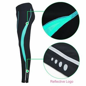 Womens Cycling Compression Tights XXL 3D pad, zip pckt/ankle NWT