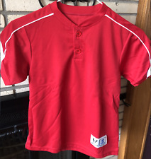 HIGH FIVE SOCCER WEDGE 2 BUTTON JERSEY, YOUTH SMALL, NEW