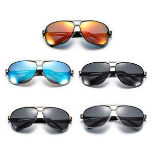 Mens Polarized Pilot Sunglasses Outdoor Driving Sun Glasses Sports Eyewear Retro