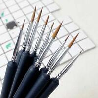 9 pcs/set Pen Sketched Lines Gouache Watercolor Paint Oil Painting Brush Tools