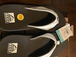 Reef Men Fanning Spackler Golf Sandals SOLD OUT Limited Edition size 10 Men's