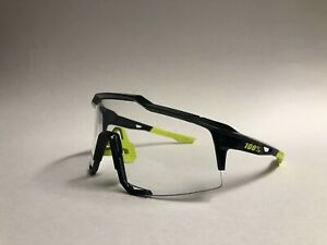 RIDE 100% - 100 Percent - Gloss Black w/ Highlighter Yellow - SPEEDCRAFT - NEW