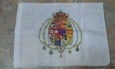 Bandiera napoli 50x65 cm flag naples stemma borbonico deklle due sicilie scrivan
