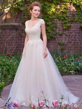 NEW Rebecca Ingram Trisha-7RW394 wedding dress with bustier and veil Size 20