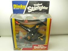 TRIDENT STAR FIGHTER WITH FIRING STELLAR MISSILE DINKY TOYS 362