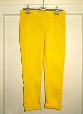 TRENDY Bright Juvia MAJE jaune coupe boyfriend San Francisco Pantalon Skinny