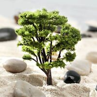 10pcs Tree Model  HO N Scale Wargame Architecture Train Railway Scenery Layout