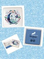 Disney Parks Alphabet ABC COLLECTION Cinderella's Castle Trinket Box Gift Box