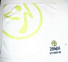 "ZUMBA WASHCLOTH / FLANNEL / SUPERMINI 12"" SQUARE TOWELET -  BRAND NEW"