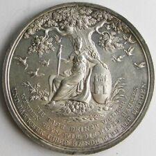 Hamburg_German States_Millenial Jubilee medal_1803
