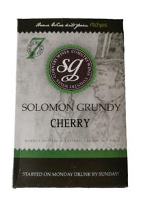 SOLOMON GRUNDY COUNTRY 6 BOTTLE WINE KIT -  CHERRY - 7 DAYS TO MAKE