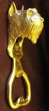 Bouvier (cropped) Bottle Opener in Bronze