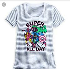 NEW Marvel Comics FASHION Flared Tank Top Tee Shirt for Women Disney Store XL
