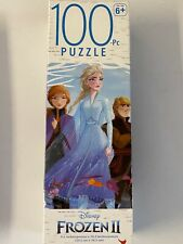 "Disney Frozen Ii Elsa Anna Kristoff Puzzle 100 Piece 9.1"" X 10.3"" Kid Jigsaw New"