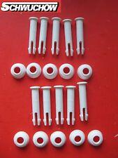 10 Intex Stift Splint Pin +Gummiring Frame Pool 305 + 366 Ersatzteil 5 cm 50 mm