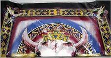 "Native Pride Indian American Buffalo  Bandana MC Biker Scarf 22"" x 22"" BAN-0142"
