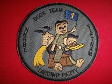 "Vietnam War Patch US Navy LANDING PARTY 1 ""DUCK TEAM"" At NHA BE, VIETNAM"""