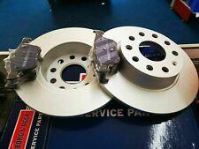VW GOLF MK7 2013- BRAKE PADS AND DISCS REAR *COATED BORG & BECK PREMIUM*