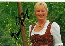 Autogramm - Mona Freiberg (Chiemgauer Volkstheater)