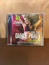 Zumba Fitness Dance Party CD Still Sealed in Plastic New K15
