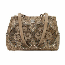 American West Annie's Secret Collection Multi Tote Sand Leather