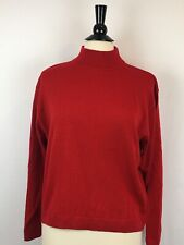 Women's VTG Med/large LS Turtleneck 100% Virgin Wool Sweaters Shirts Pendleton