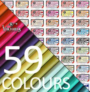 Viktoria® Fabric Dye - Clothes Dye 59 COLOURS 200g Fabric for each