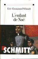 Livre l'enfant de Noé Eric-Emmanuel schmitt book