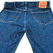 Levis 505 Jean Shorts Size 38 Blue Denim Wash Mens