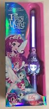 Magic Fairy Wand Princess Lily Purple Toy Talking Lights Up New 2017