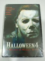Halloween 4 Michael Myers John Carpenter Horror - DVD Regione 2 Nuovo