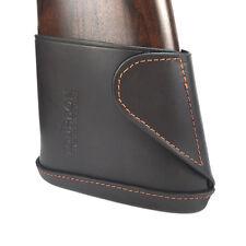 Tourbon Slip-on Recoil Pad Real Leather Gun Decelerator Butt Stock Rifle Shotgun