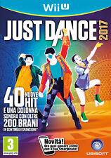 Just Dance 2017 Nintendo WII U IT IMPORT UBISOFT