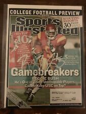 Reggie Bush autographed signed Sports Illustrated August 15, 2005 USC