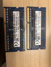 2 Modules SK Hynix 8GB 2Rx8 PC3L-12800S-11-13-F3