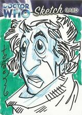 Dr Doctor Who Trilogy Sketch Card drawn by Thomas Hodges of The 4th Doctor [ A ]