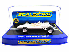 Scalextric White Team Lotus Type 49 1/32 Slot Car C3442