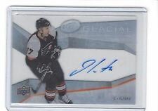 2008-09 Upper Deck Ice Glacial Graphs Autographed #GG-CA Jeff Carter Auto Card