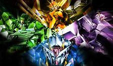 172 Mobile Suit Gundam 00 PLAYMAT CUSTOM PLAY MAT ANIME PLAYMAT FREE SHIPPING