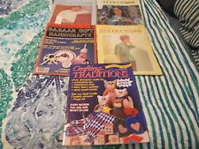 Lot Of 5 craft books Crafting Traditions And 4 Vintage 1966-1985