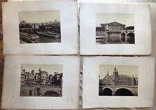 QUINET ACHILLE 4 PHOTOS DE PARIS