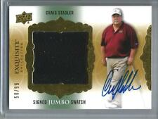 Craig Stadler 2013 Exquisite Collection Autograph Game Used Golf Shirt #50/99