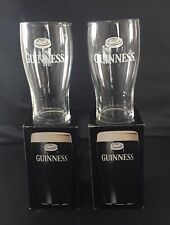 2 GUINNESS PINT GLASSES - RUGBY WORLD CUP 1999 BOXED NEW