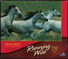 MEGA 750 Piece Jigsaw Puzzle - Running Wild / Wind Through The Withers - NIB