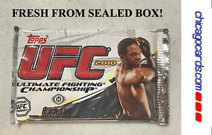 2010 Topps UFC Series 4 Hobby Pack Auto Relic Parallel Jon Jones Cover NEW