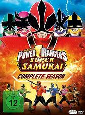 Power Rangers Super Samurai  DVD complete season Mighty Morphin Box Region 2