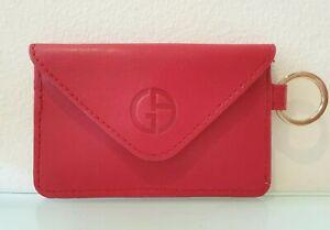Giorgio Armani Beauty Key Ring Wallet